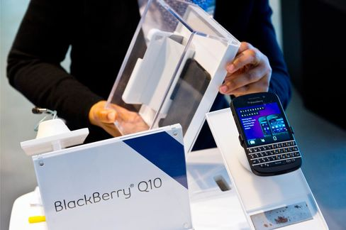 BlackBerry Declines After Move to Open Up BBM Messaging System