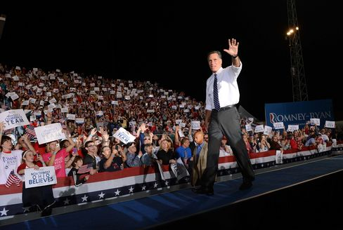 Romney Criticizes Obama on Economy Even as Growth Picks Up