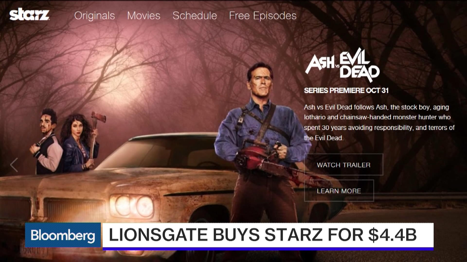 Lions Gate Buys Starz For 44 Billion In Premium Cable Push Bloomberg The Authorized Amy Iphone Wallpaper Calculator Circuit Board