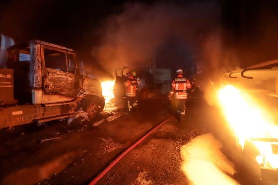 Truckers Strike, Block Roads in Chile to Protest Arson Attacks