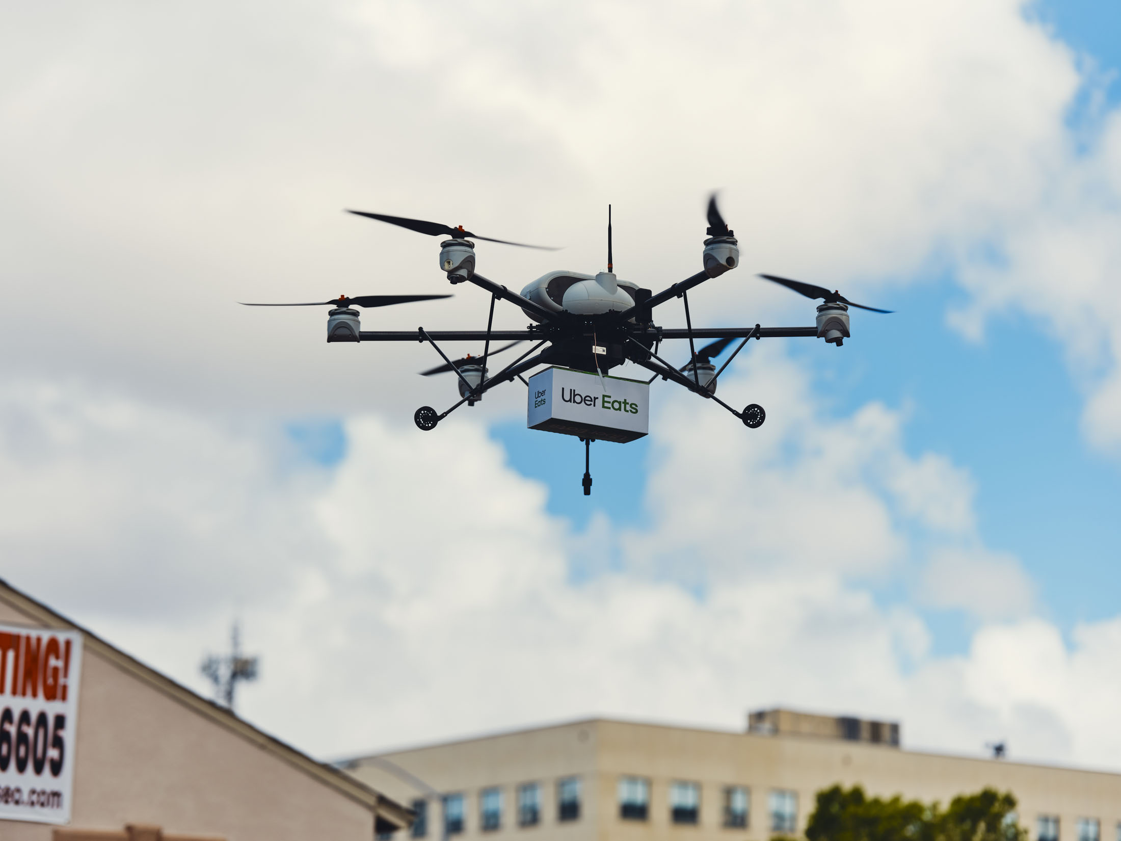 Uber Wants Your Next Big Mac To Be Delivered By Drone