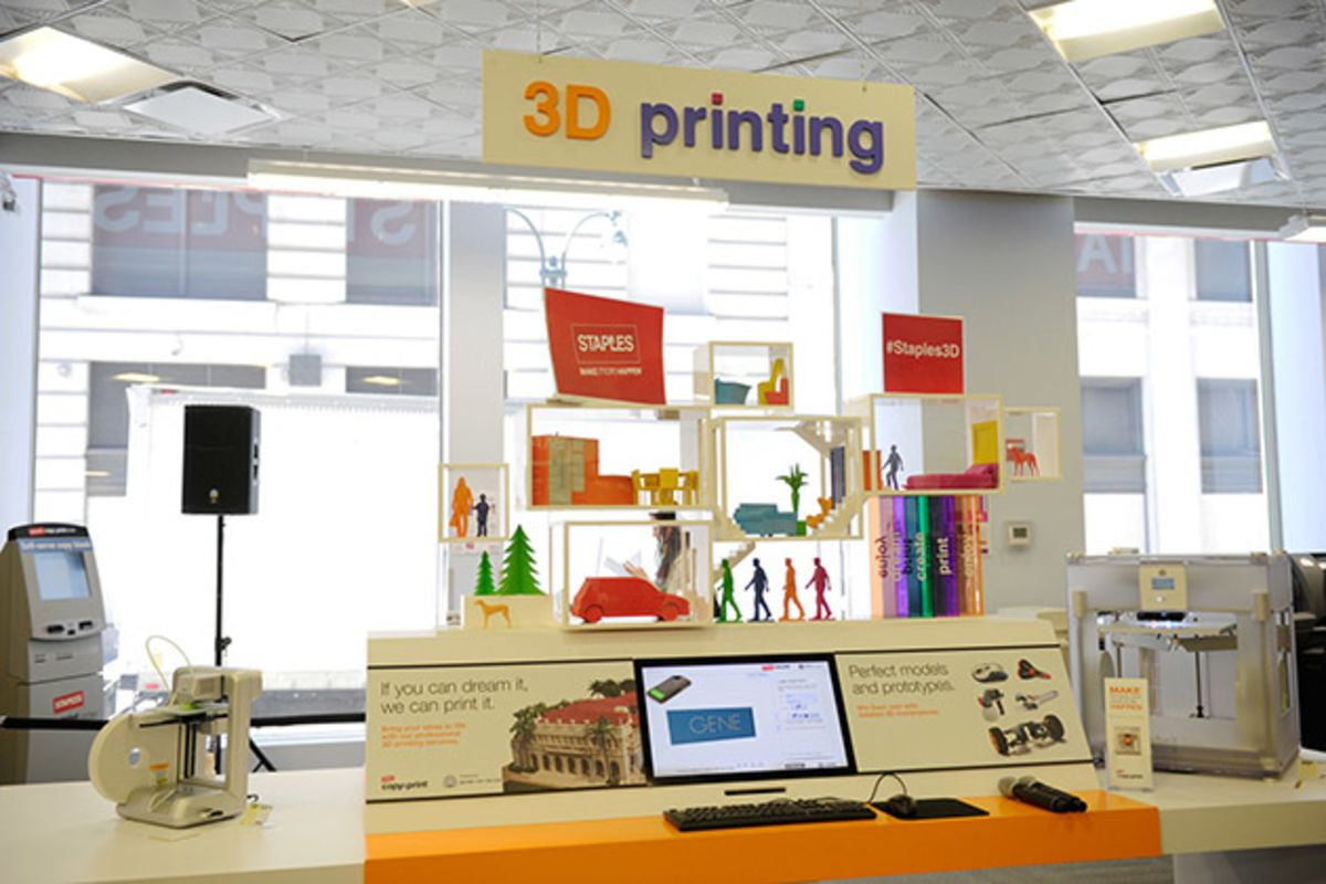 What Time Does Staples Open Today >> Staples Wants To Bring 3d Printing To The Masses Bloomberg