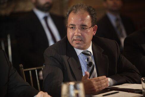 Palestinian Monetary Authority Governor Jihad Al-Wazir