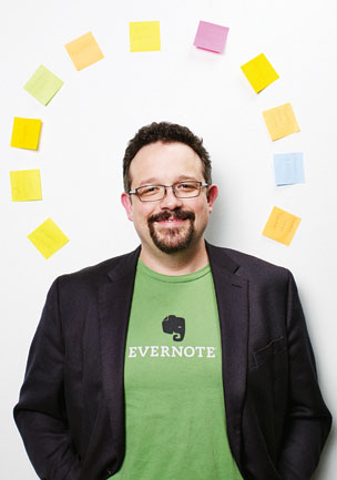 "CEO Libin wants Evernote to appeal to ""lazy slobs"""