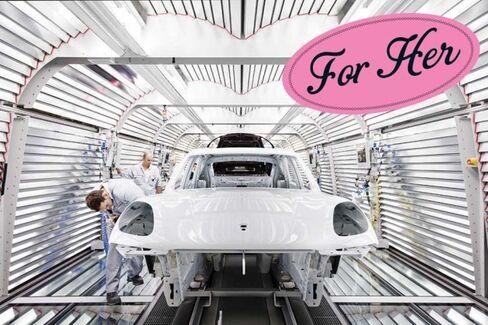 Porsche Builds Macan Crossover to Win Over Women