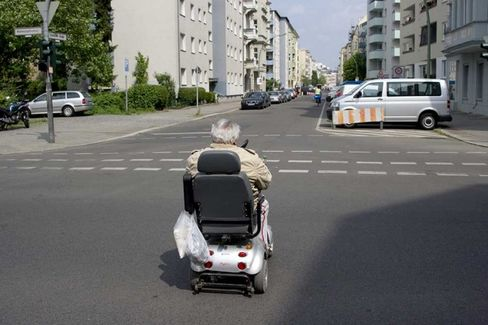 Insurers Claim Granny Scooters Must Be Covered???Just Like Cars