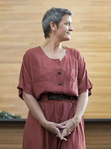 European Union competition chief Margrethe Vestager.