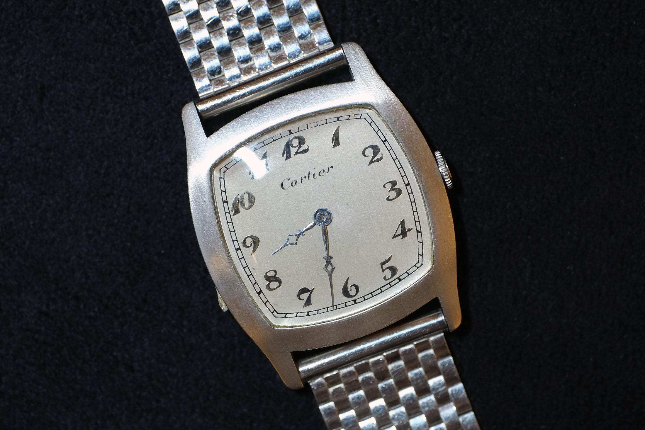 Cartier Platinum Tortue Minute Repeater (Lot 233)