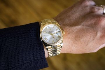 An Ode to the Gold Rolex Day,Date , Bloomberg