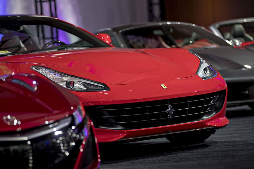 Ferrari Supercars Are So Hot That They Re Sold Out Into 2019 Bloomberg