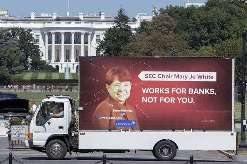 "The ""Dump (Mary Jo) Truck"" passes the White House on Sept. 15."