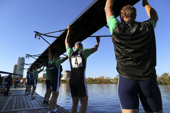A Rowing Concept Gym Gets Real at the Head of the Charles Regatta