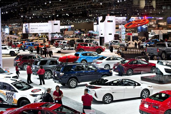 Chicago Auto Show's Return Spurs Hope for Revival of Big Events