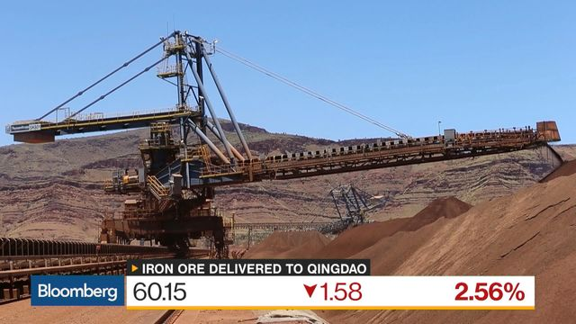 China iron ore extends losses as supply rises; steel rebounds