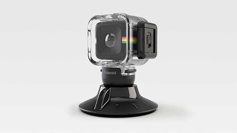Waterproof case and suction mount