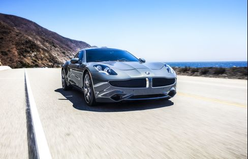 The Karma Revero has four doors, dual-zone climate control, and park assist.