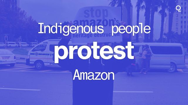 Indigenous People Protest Amazon's New Africa Site