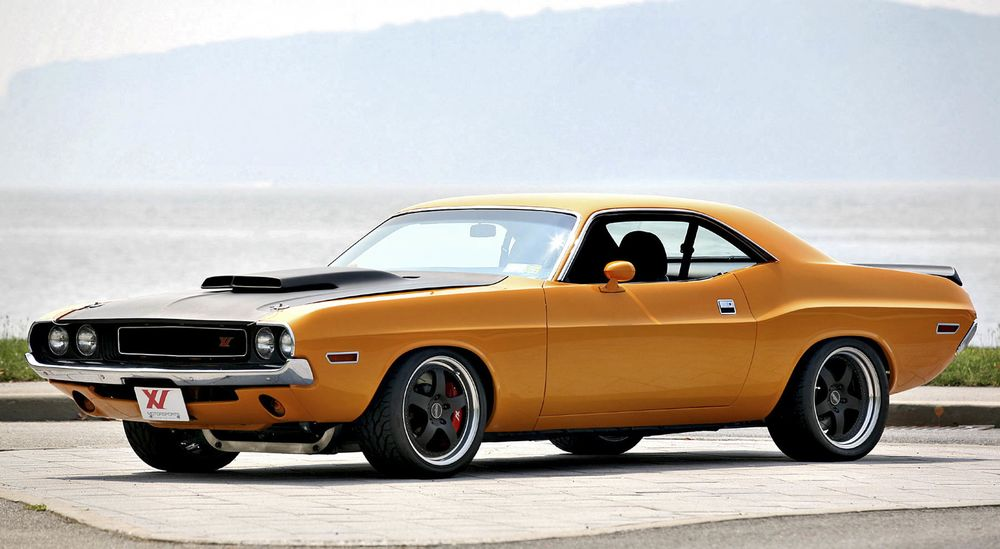 The New Dodge Challenger Is Fine But The Classic Still Reigns As