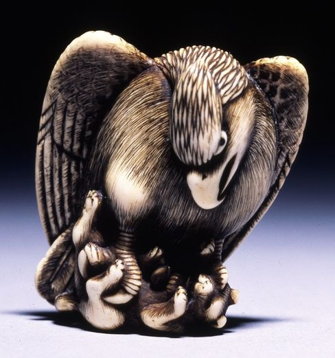 One of the netsuke in the British Museum's collection.