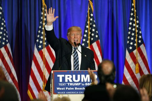 Donald Trump on Mar. 5 in West Palm Beach, Florida