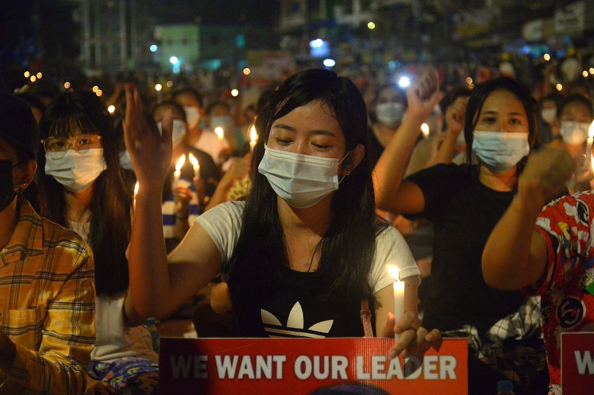 At Least 10 Killed as Myanmar Anti-Coup Protests Escalate thumbnail