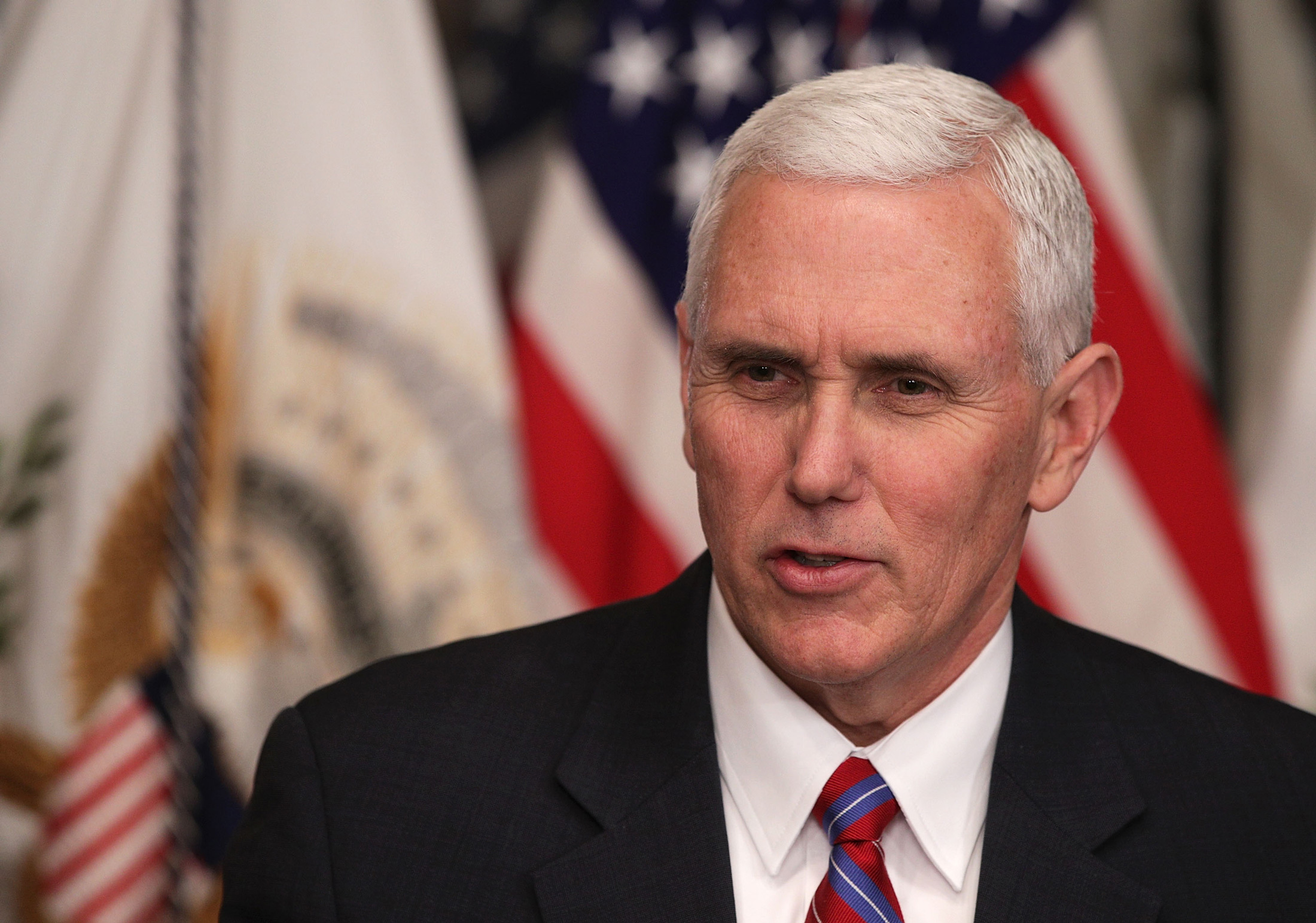 Pence Acknowledges That Trump Tax Plan Could Increase Deficit - Bloomberg