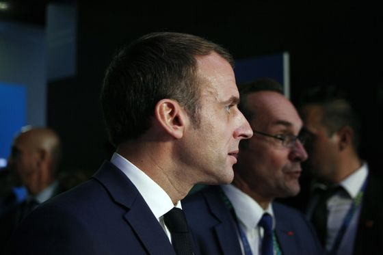 Macron Fights on Two Fronts as French, German Risks Collide
