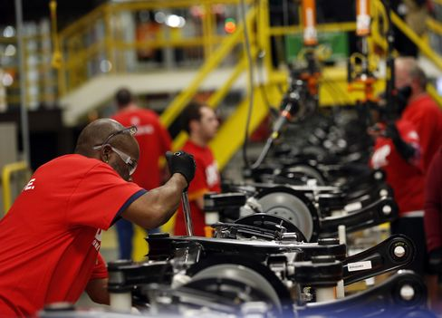 Factories Took On The Most Workers in Four Months