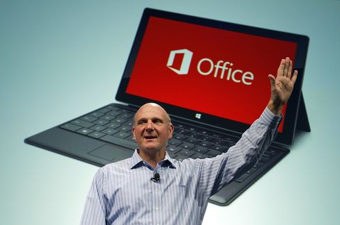 Microsoft CEO Steve Ballmer to Retire Within 12 Months