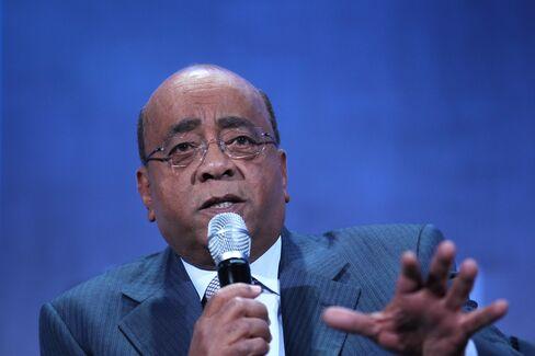 Billionaire Mo Ibrahim