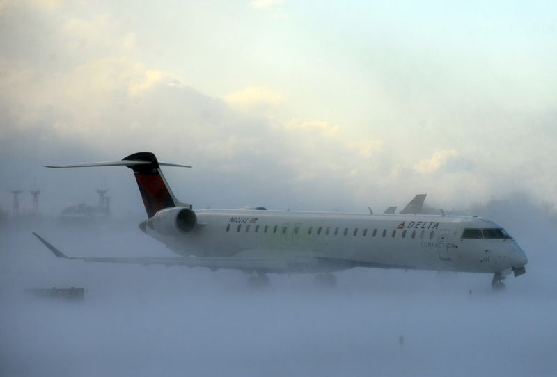 Buffalo Niagara International Airport in Buffalo, N.Y.,