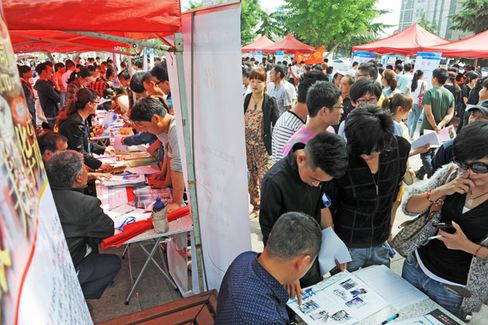 Divining Unemployment in China