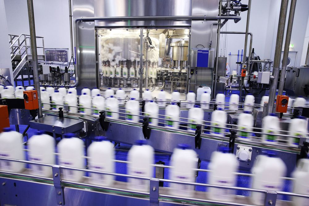 An A2 Milk Co. facility in Sydney, Australia.