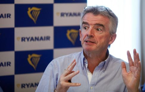 Michael O'Leary on Aug. 31.