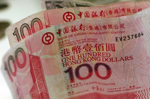 Hong Kong May Have Yuan Peg in 2 Years, Barclays Says