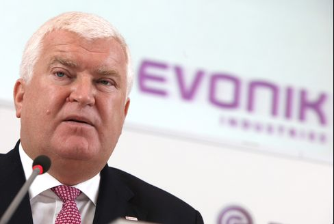 Evonik CEO Klaus Engel