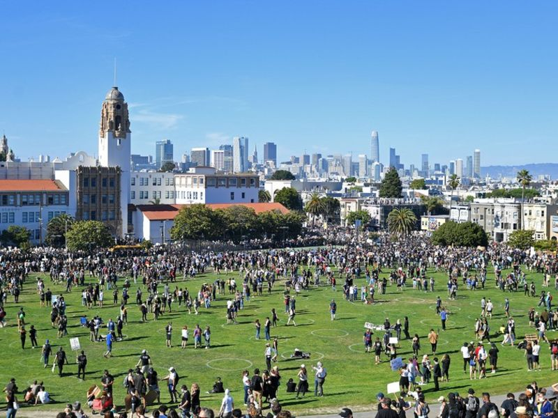 relates to Amid Protest and Pandemic, Urban Parks Show Their Worth
