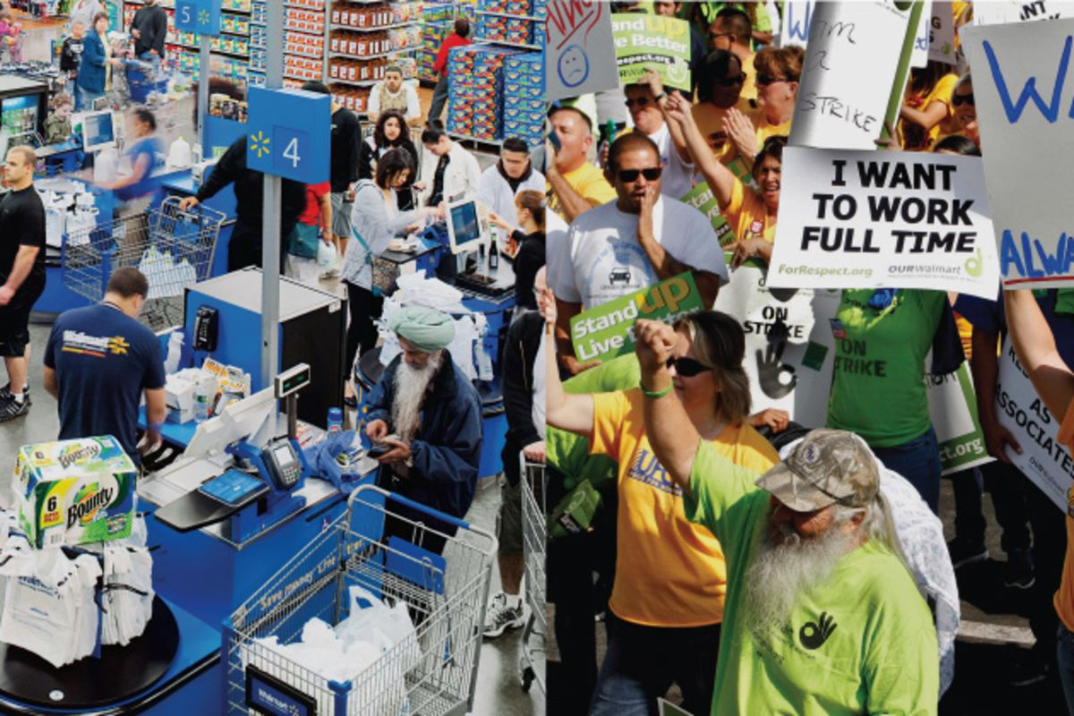 walmart union To complete its acquisition of massmart, a chain of retail stores in south africa, walmart struck a deal that must seem extraordinary to the company's american employees to win government approval of the acquisition, walmart made concessions to a south african labor union, agreeing to avoid.