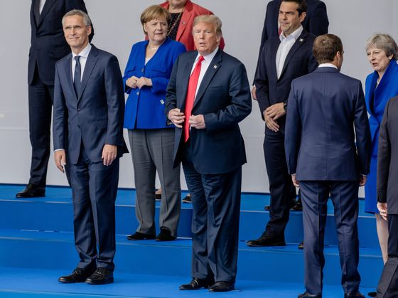 After Meeting an Unpredictable Trump, NATO Lives to Fight Again