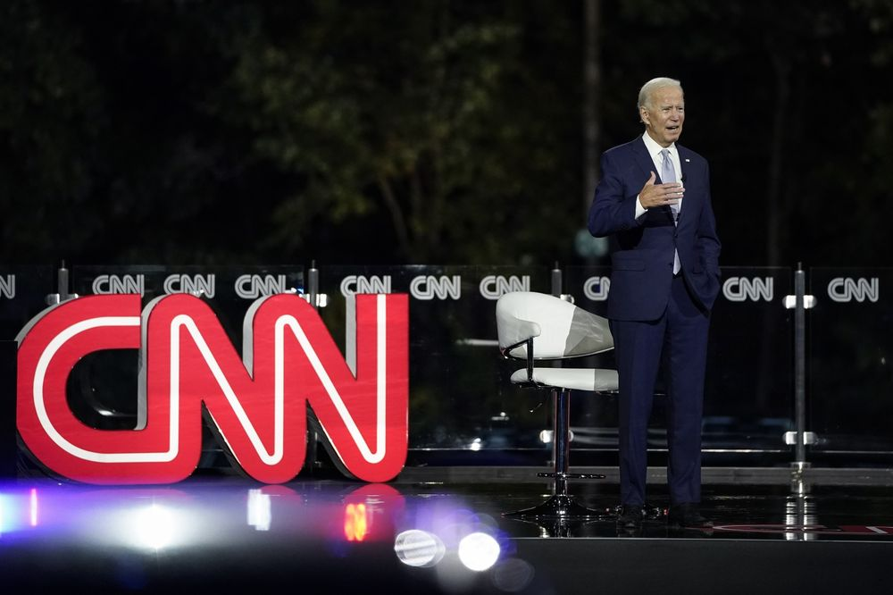 Joe Biden Aced The Town Hall Why Didn T Donald Trump Bloomberg