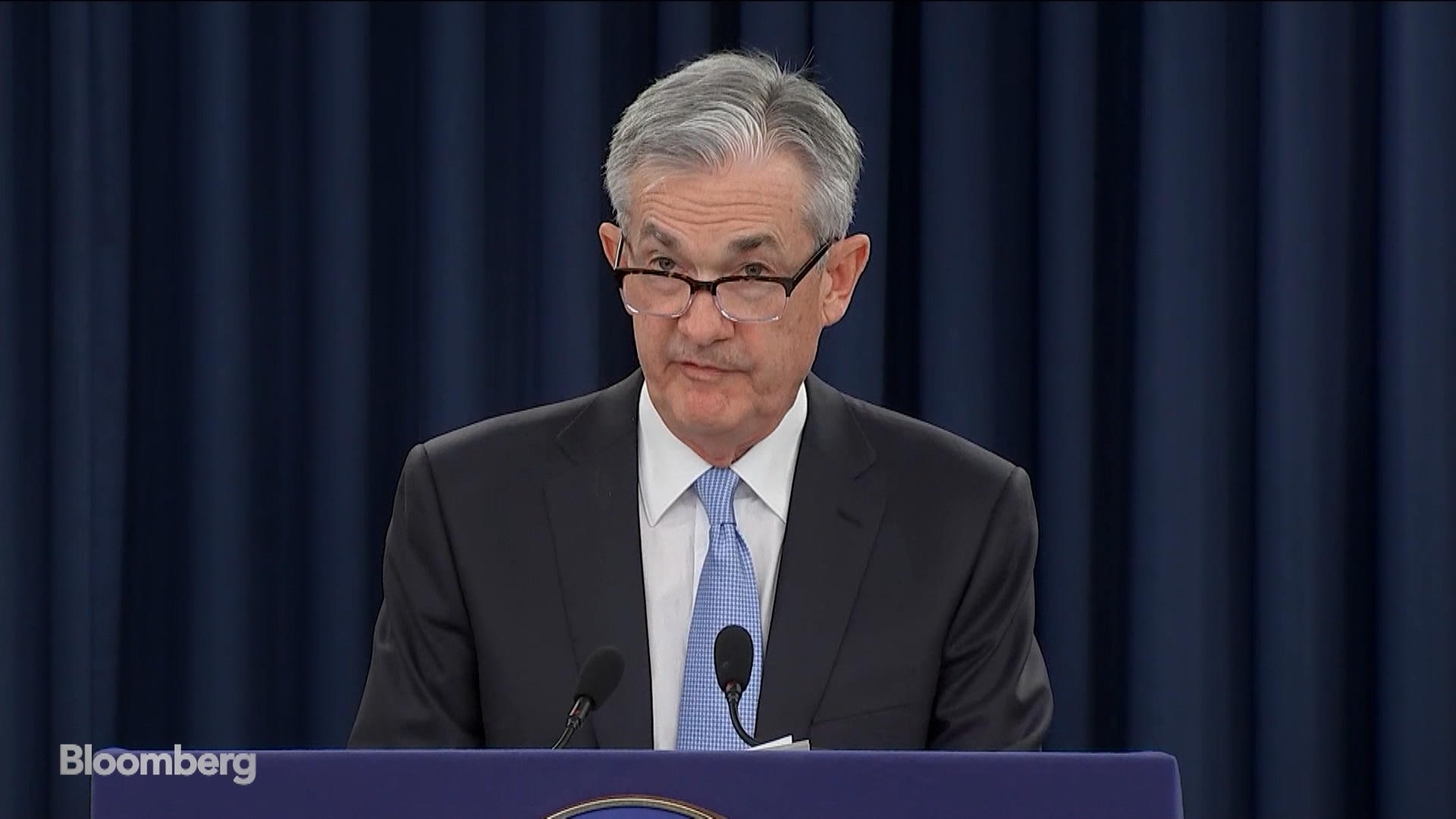 Fed's Powell Says Current Policy Stance Is Appropriate