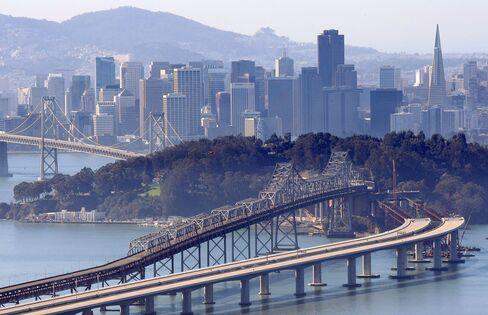 San Francisco Bay Bridge Gets 5,300-Ton Delivery From China