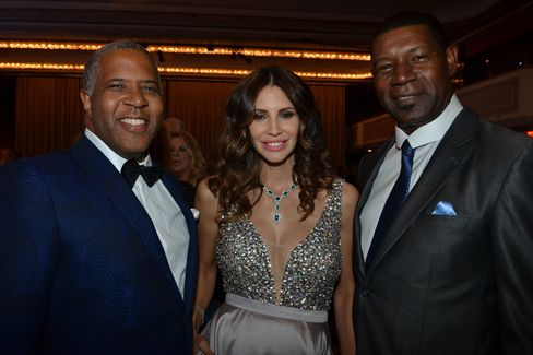 Robert and Hope Smith with Dennis Haysbert