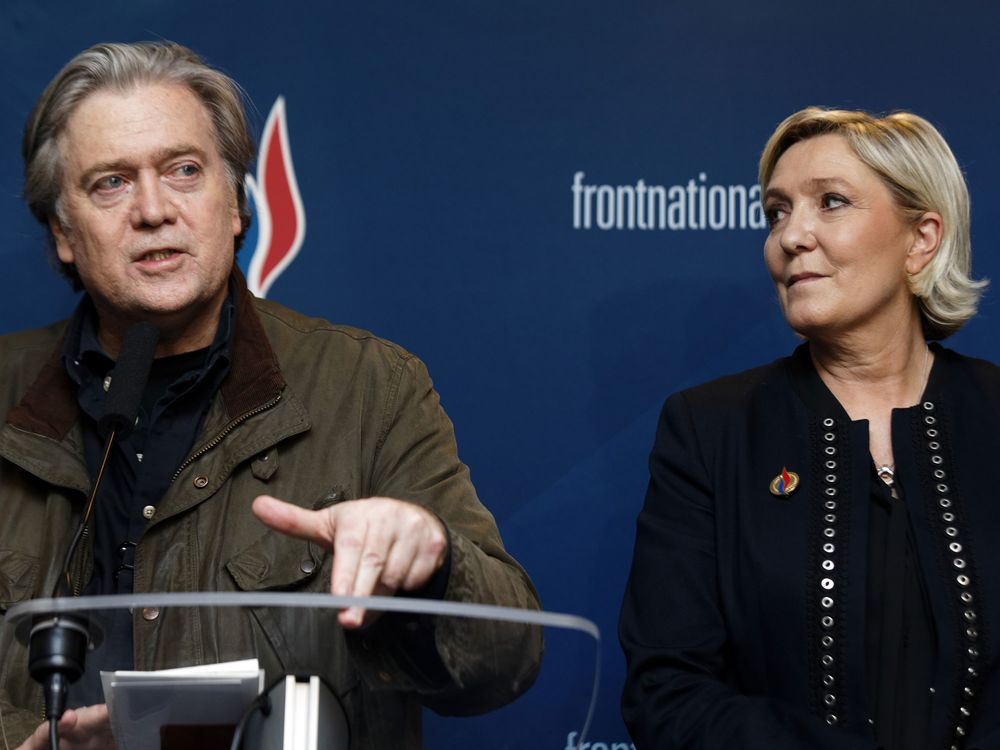 French Parliament to Weigh Call for Probe of Le Pen-Bannon Ties