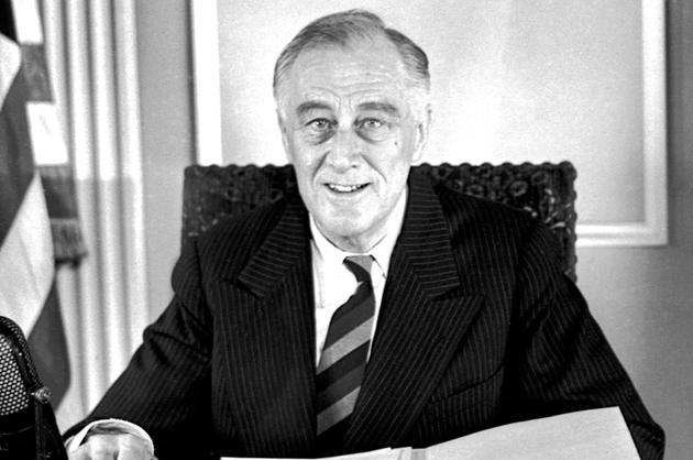 Franklin Roosevelt, 1935