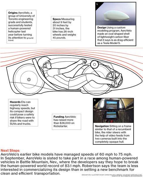 Eta Speedbike: Fast Enough for the Highway
