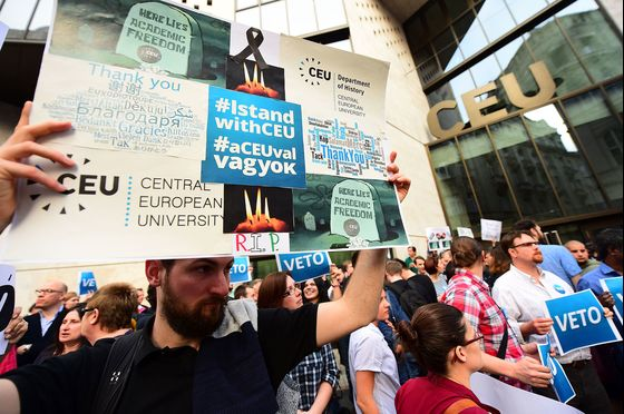 Hungarian School Linked to Soros May Succumb to Illiberal Wave