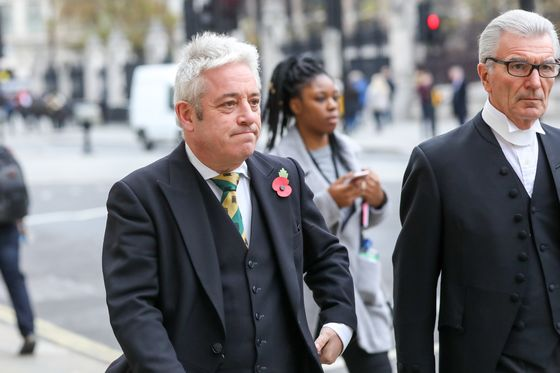 May'sBrexit Stuck Between Brussels and Bercow