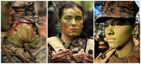 Female Marines Break Gender Barrier to Finish Infantry Training