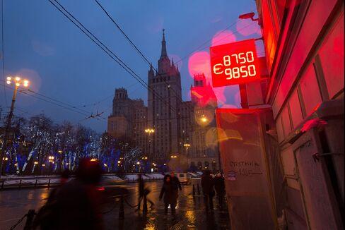 Ruble's Freefall